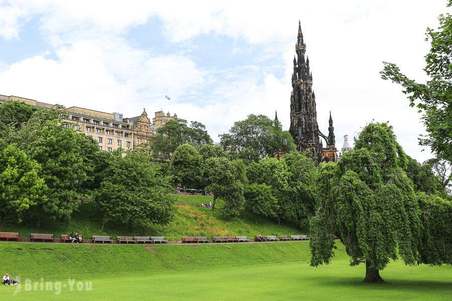愛丁堡舊城區景點