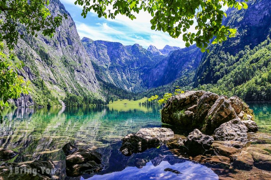 【國王湖上湖景點】上湖(Obersee)牛奶小屋絕景&Röthbachfall瀑布健行