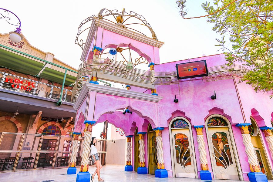 杜拜寶萊塢公園 Bollywood Parks