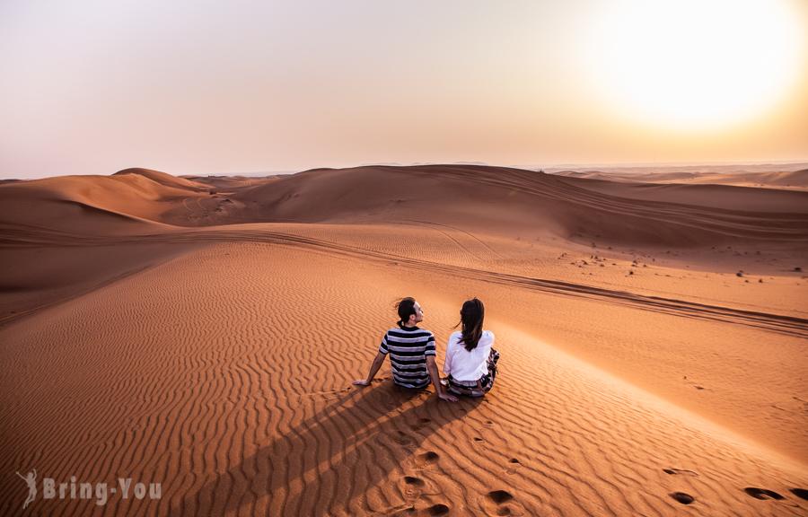 【杜拜必玩】沙漠飆沙、騎駱駝看日落體驗 Safari Tour in Dubai Desert