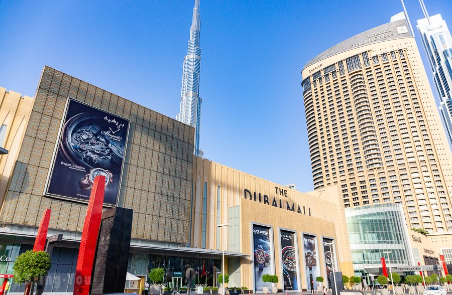 杜拜購物中心Dubai Mall