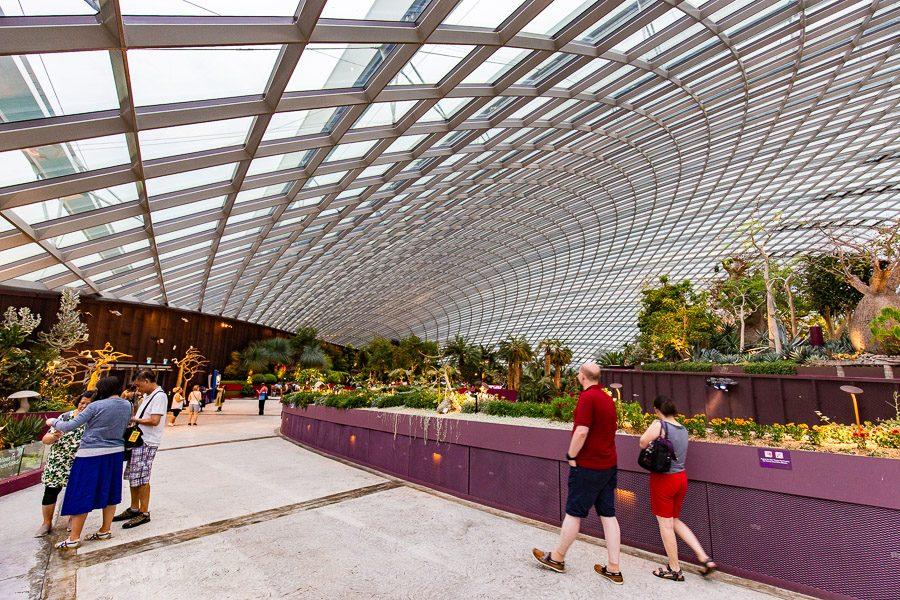 新加坡濱海灣花園花穹