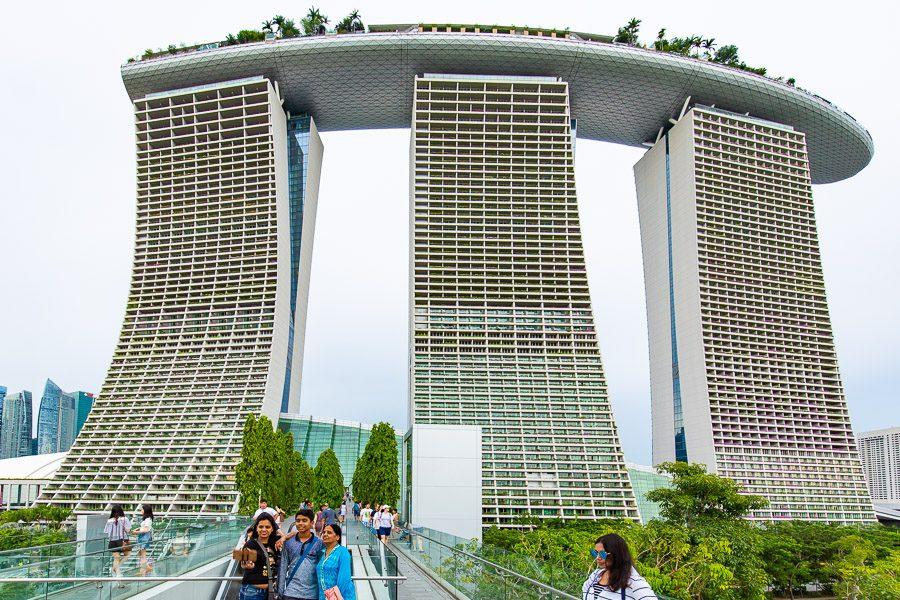 新加坡濱海灣花園金沙酒店