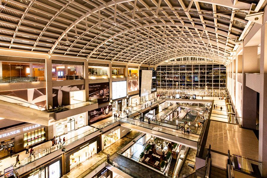 新加坡濱海灣金沙購物商城