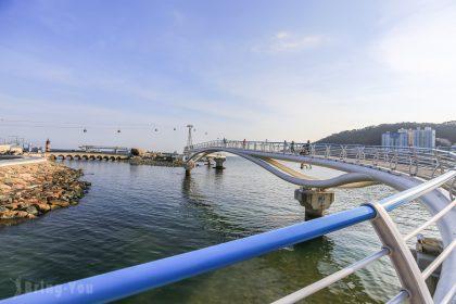 【釜山景點】全韓國最長海上散步道:松島海上步道、松島海水浴場、松島海上纜車