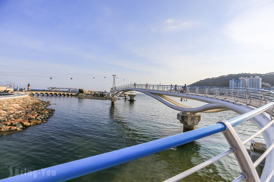 【釜山】全韓國最長海上散步道:松島海上步道、松島海水浴場、松島海上纜車