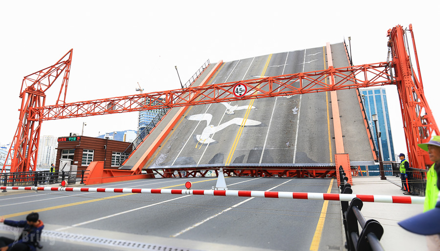 【釜山地標】影島大橋開橋,來去看看韓國唯一的開合式大橋