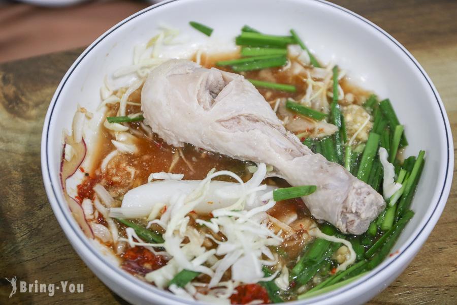 【孔陵一隻雞東大門分店】首爾必吃美食推薦,雞粥好好吃(中文菜單價位、可刷卡)