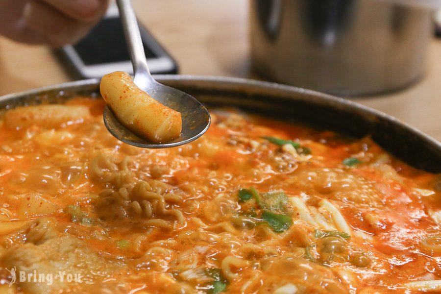 首爾三清洞摩西年糕鍋