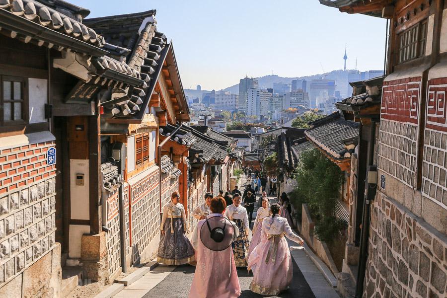 【韓國首爾景點】穿韓服散步「北村韓屋村」探訪傳統貴族韓屋