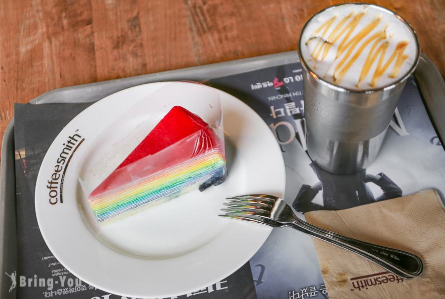 【韓國首爾咖啡廳推薦】Coffee Smith 弘大分店,韓劇迷必去好吃下午茶