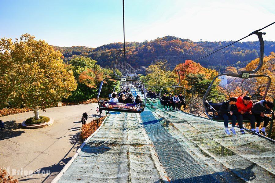 首爾愛寶樂園纜車