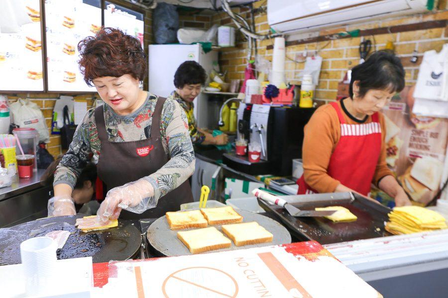 Isaac Toast 首爾東大門24小時分店