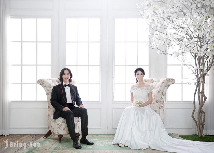 【韓國輕婚紗體驗】首爾吉安得婚紗攝影分享:推薦給情侶、小資女結婚