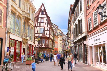 【法國景點】童話小鎮 科爾⾺Colmar:科爾⾺必遊小威尼斯、宮崎駿《霍爾移動城堡》