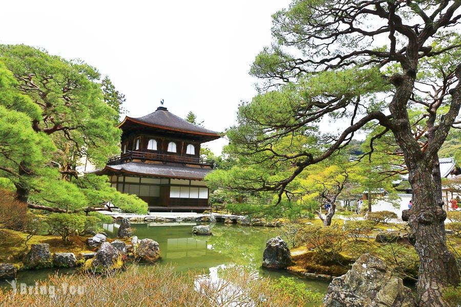 【京都景點】銀閣寺枯山水庭院搭配哲學之道一日遊攻略