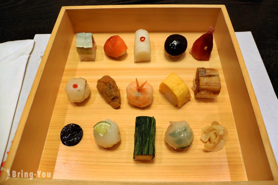 【京都祇園豆皿料理】祇園豆寅:體驗藝妓吃的可愛豆壽司