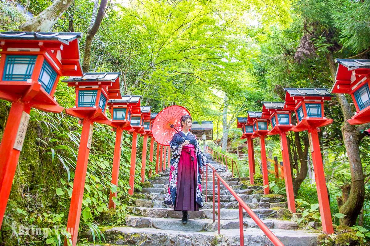 【貴船神社、鞍馬寺一日遊】京都著名戀愛神社景點、楓葉、交通攻略