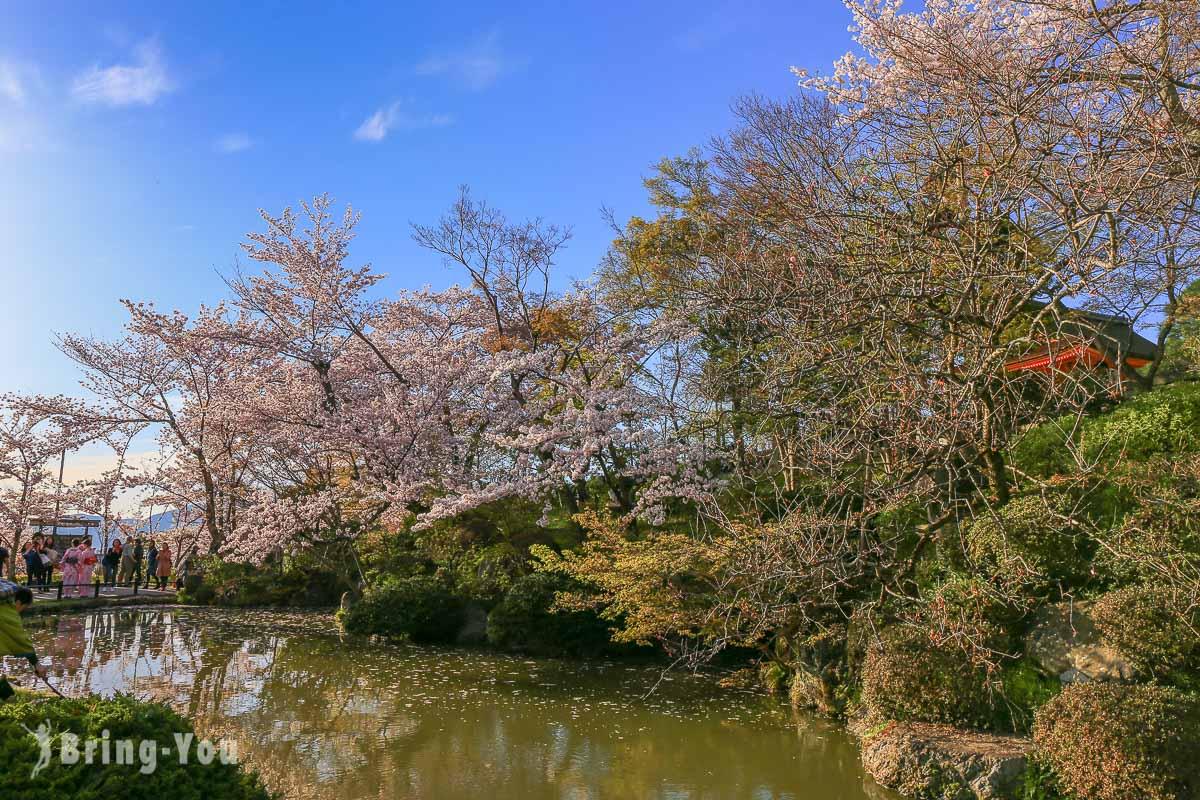 清水寺水池