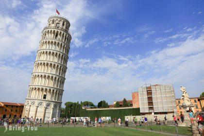 【義大利景點】比薩斜塔(Torre di Pisa)拍照與現場都很有梗的那座塔之交通方式