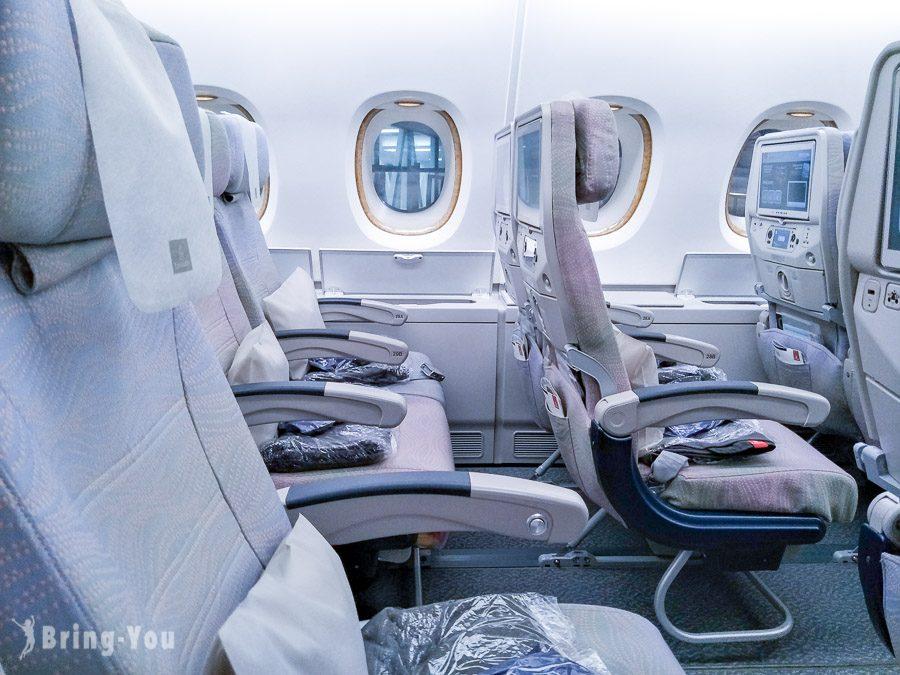 阿聯酋航空A380經濟艙搭乘評價