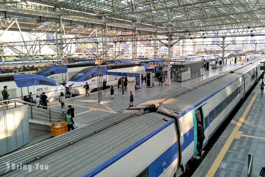 【韓國交通】搭乘韓國高鐵KTX 京釜線來往首爾~釜山,火車票購買攻略