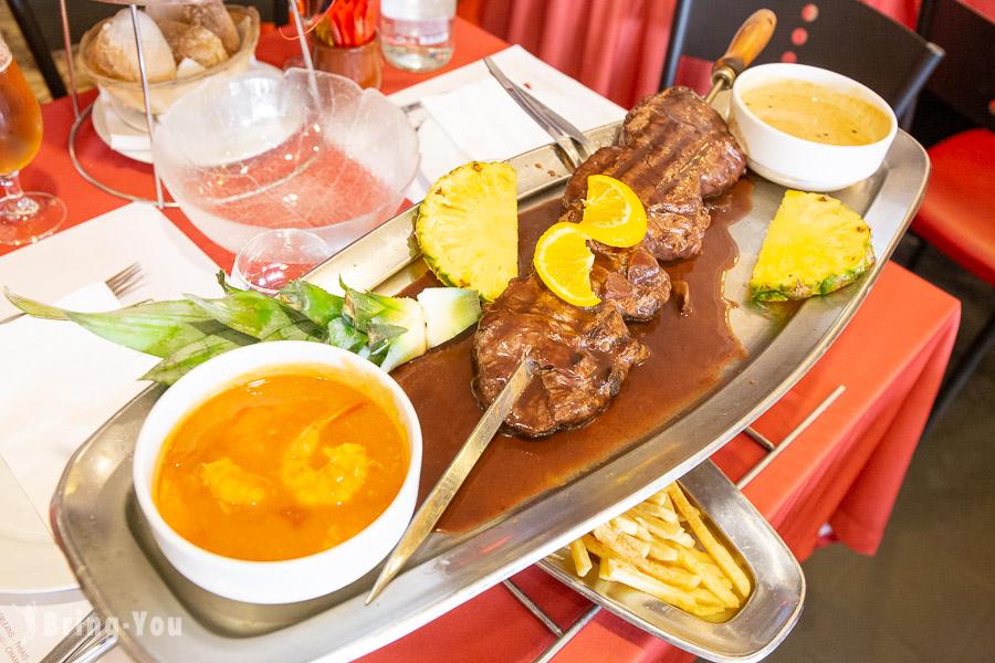 【巴黎美食】Pedra Alta 龍蝦牛排:超好吃海鮮拼盤!必吃CP值高人氣名店(含菜單)