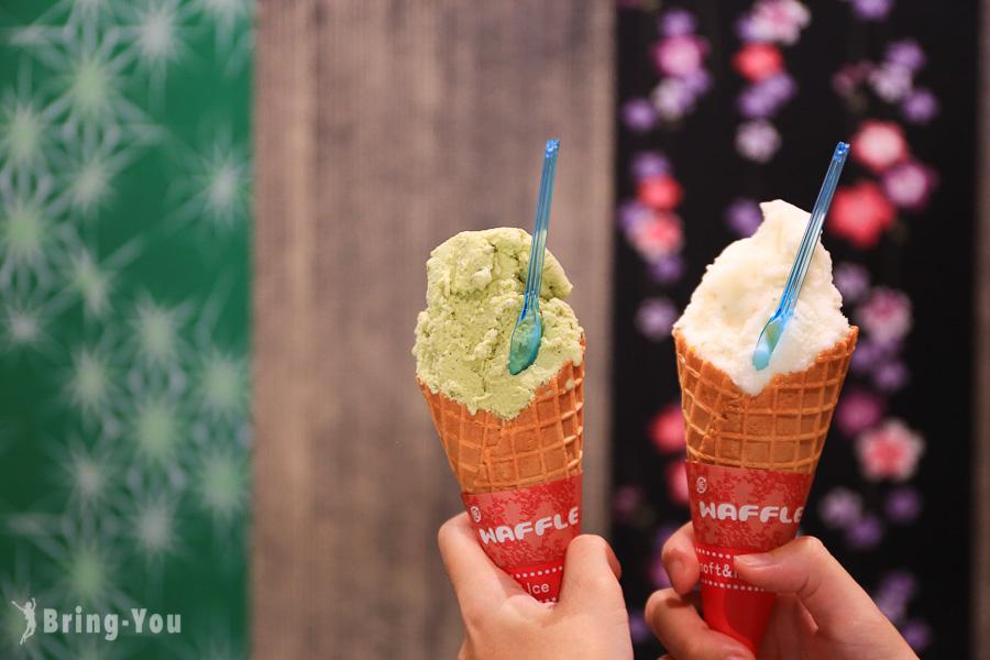 【京都嵐山美食】新八茶屋,得世界級大獎的開心果義式冰淇淋