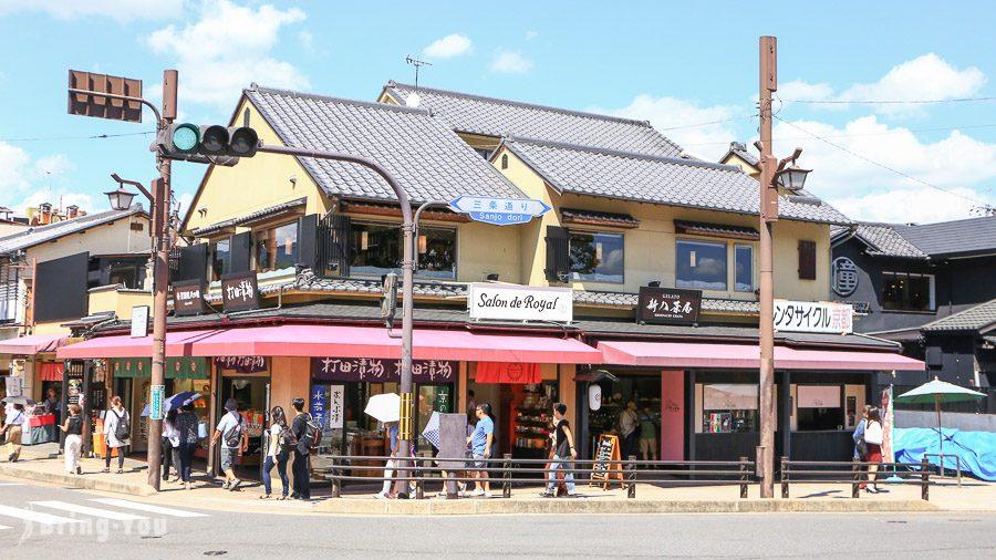 嵐山新八茶屋義式冰淇淋