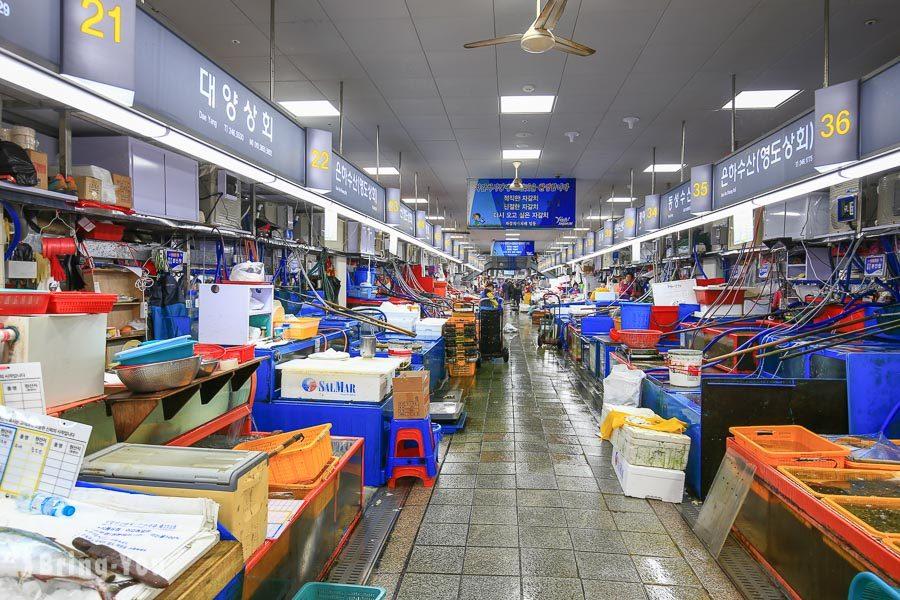 釜山札嘎其市場
