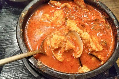 【釜山西面美食】好吃的嫩豆腐鍋推薦「맛있는한끼」