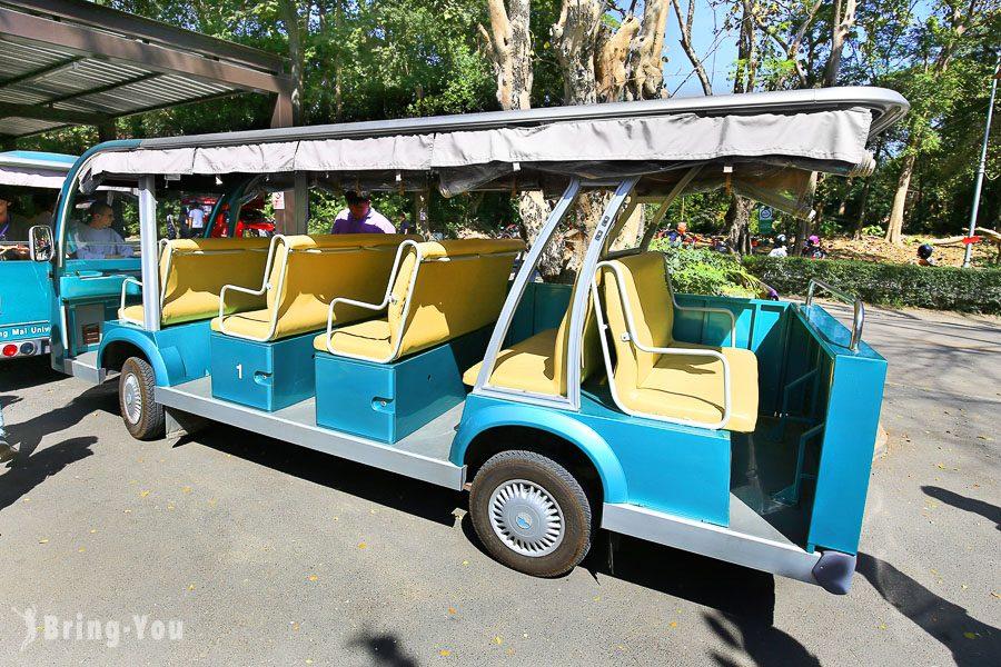 清邁⼤學遊園車