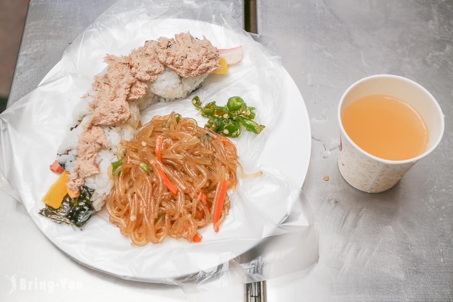 【首爾美食】廣藏市場:吃遍韓國傳統小吃,紫菜包飯、綠豆煎餅