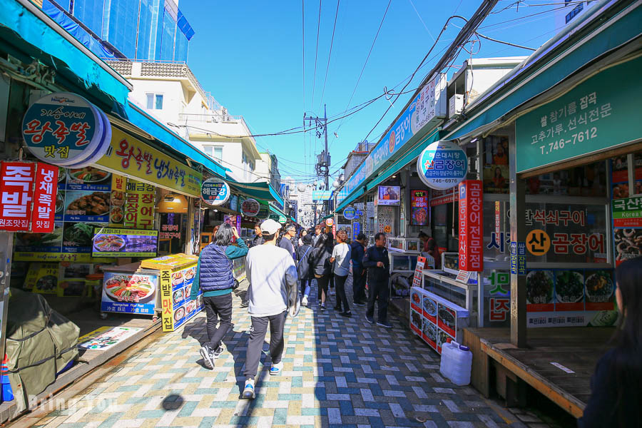 【釜山傳統市場】海雲台市場 盲鰻餐廳&尚國家飯捲