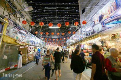 【泰國清邁】Night Bazaar長康路夜市:必逛傳統泰式觀光小物與手工藝品,夜⽣活這裡天天都有!