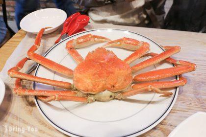 【韓國首爾】鷺梁津水產市場:大啖長腳蟹生章魚海鮮,2F海鮮料理龍宮食堂