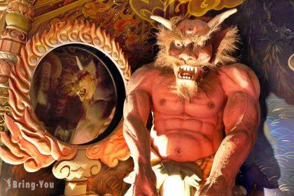 【⼤阪私房景點】全興寺:超另類玩法,來去地獄堂體驗地獄!