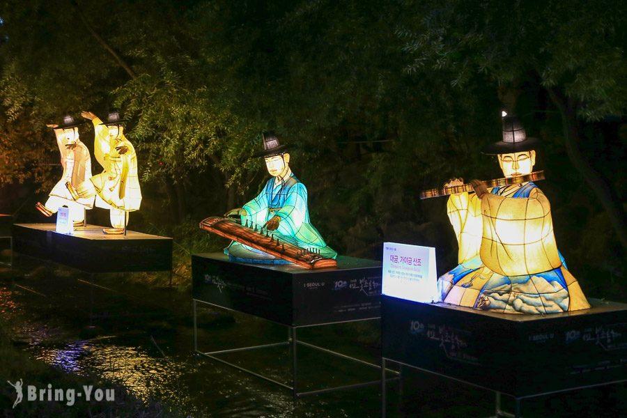 首爾燈節清溪川