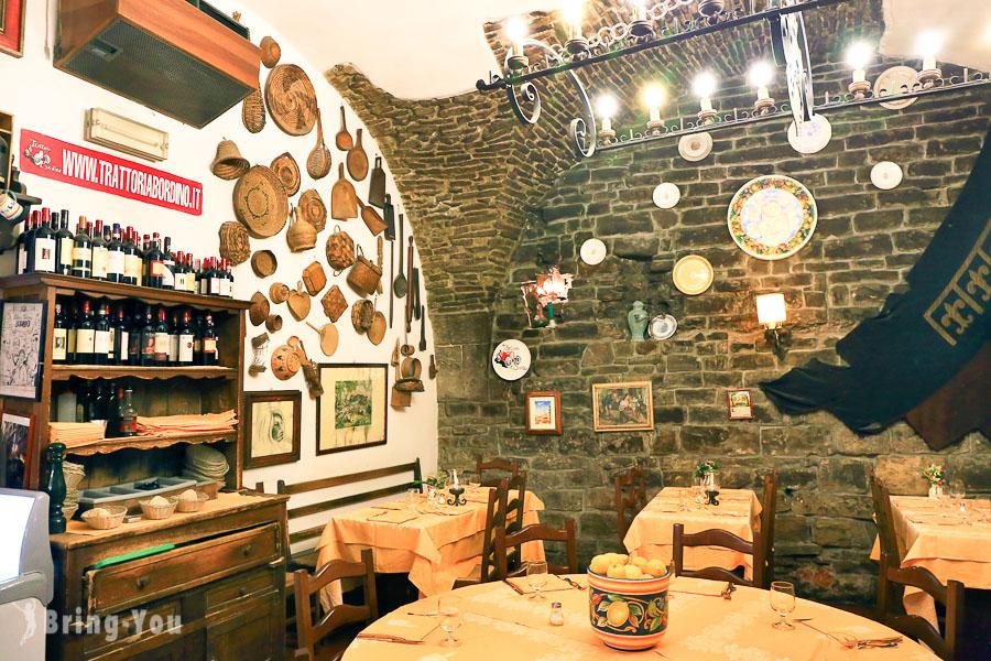 【佛羅倫斯平價美食】Trattoria Bordino,義大利小餐館