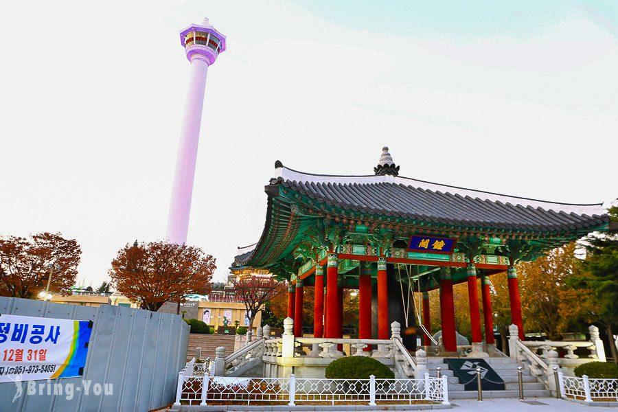龍頭山公園釜山塔