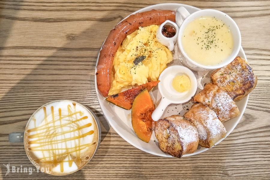 【台北中山國中站美食】Coppii Lumii living coffee 冉冉生活,餐點實在好吃的早午餐咖啡廳推薦