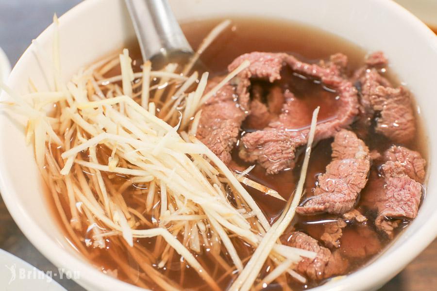 【台南東區美食】億哥牛肉湯:24小時營業,消夜早餐都可以