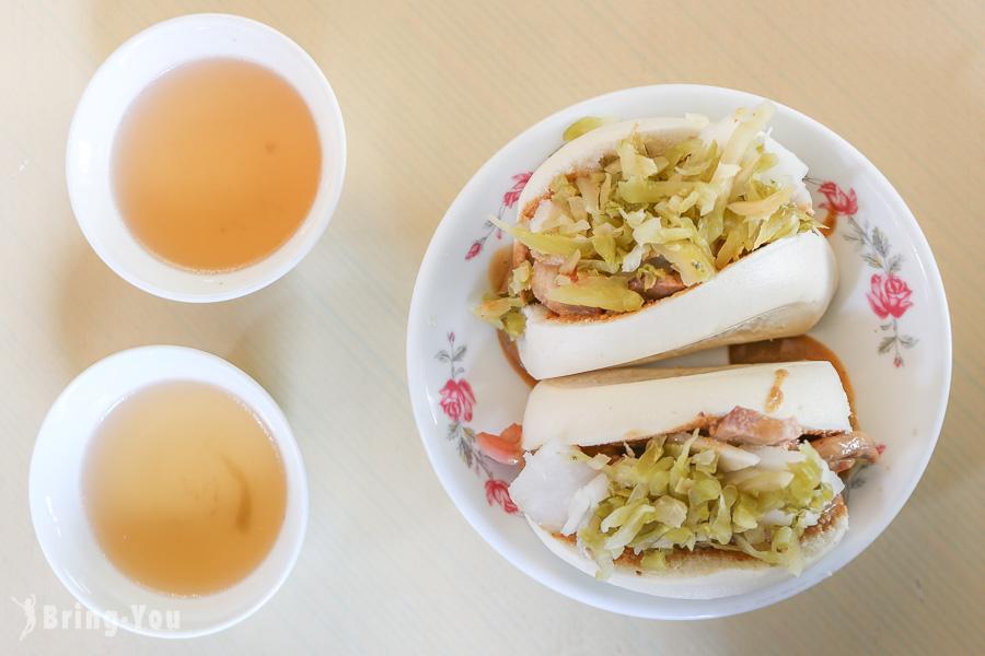 【台南中西區小吃】阿松割包:國華街永樂市場特色豬舌刈包