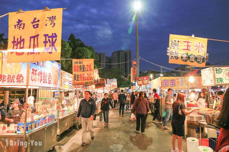【台南夜市】大東夜市:必吃美食、營業時間、交通攻略