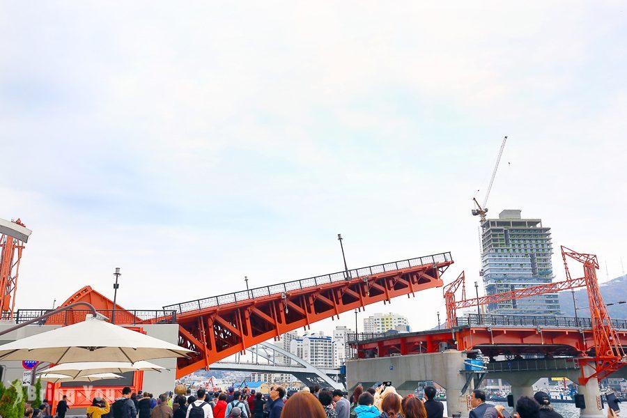 釜山影島大橋開橋