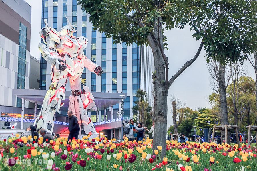 【東京御台場景點】獨角獸鋼彈:燈光秀變身時間都在日本購物廣場「Diver City Tokyo Plaza」
