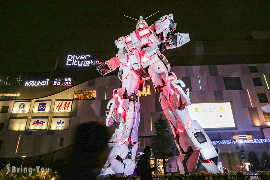 【日本台場景點】台場一日遊 |交通、美食、夜景、Outlet購物等 |御台場好玩行程攻略