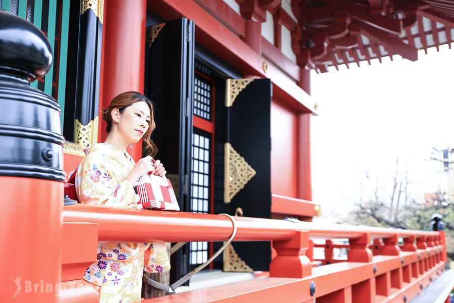 【東京和服租借體驗】淺草寺雷門附近「和裝工房雅和服體驗館」