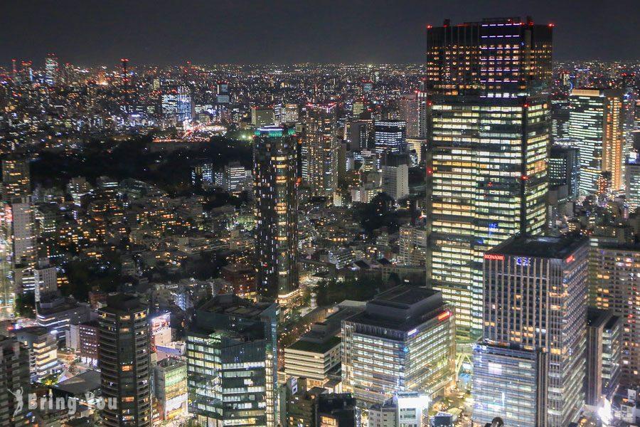 六本木之丘森大樓六本木新城展望台夜景