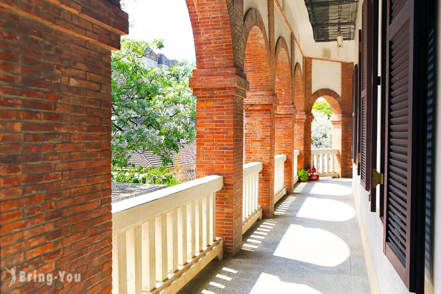 【台南火車站附近景點】台南知事官邸生活館:歐洲巴洛克式風情建築,還有市集可以逛